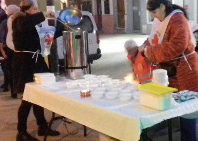 distribution soupe des chefs