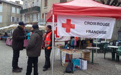 Le Rotary et la Croix-Rouge française présents sur les marchés de Die pour leur traditionnelle « Foire aux huitres et homards »