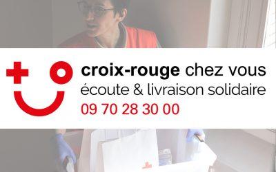 COVID-19 : DISPOSITIF CROIX-ROUGE CHEZ VOUS ACTIVE DANS LA DRÔME