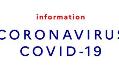A propos du coronavirus …