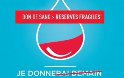 CROIX ROUGE DE DIE Don de sang: Partagez votre pouvoir, donnez votre sang !